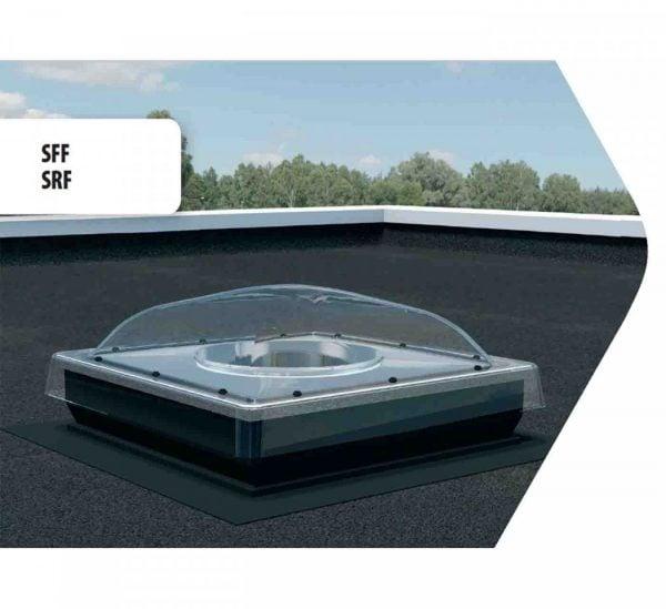 Tunel de lumina SRF Fakro acoperis terasa