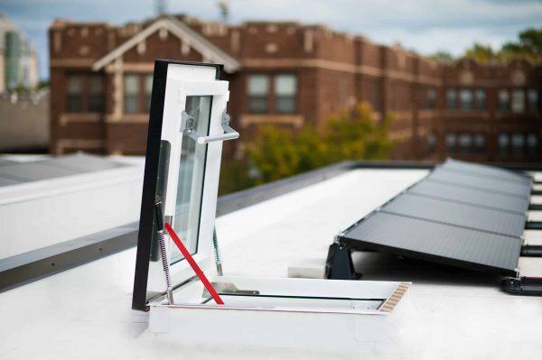 Blocator Fakro ZBR ferestre acoperis terasa