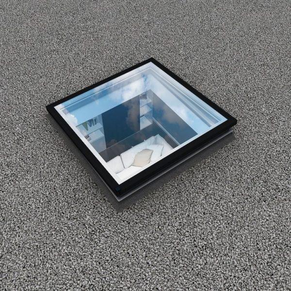 Fereastra acoperis terasa fakro DXG P2 fara deschidere